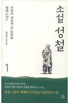 소설 성철 1